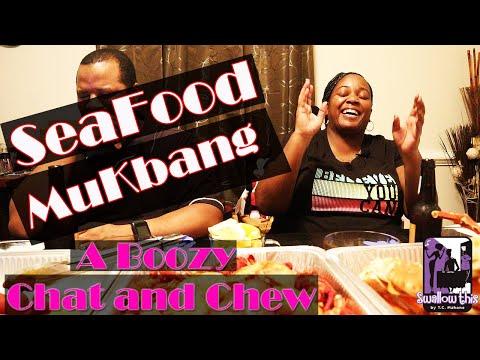 Seafood Mukbang (A Boozy Chat & Chew)