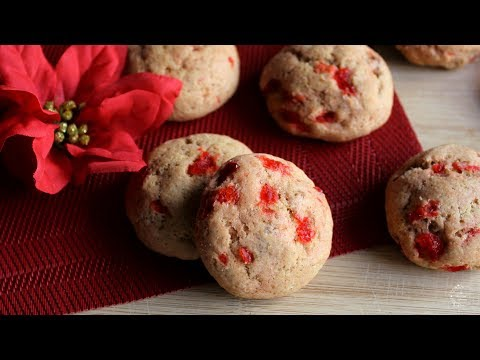 Soft Christmas Cake Cookies Recipe | The Sweetest Journey