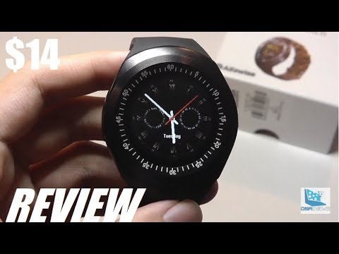 9bc74bce8 REVIEW: Alfawise Y1 - $14 Round Display Smartwatch? - YouTube