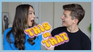 This Or That! Couples Challenge | The Herbert's