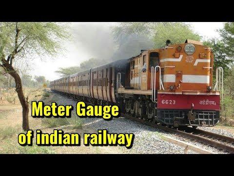 Meter gauge of indian railway
