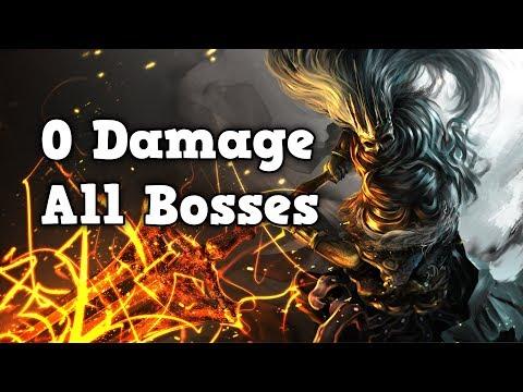Dark Souls 3 Worlds First 0 Damage All Bosses Run (No DLC)