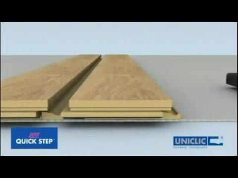 Замок ламината Quick Step Uniclic