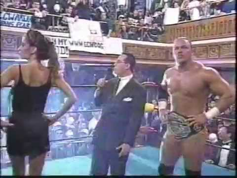 Joey Styles, Shane Douglas & Francine ECW 1998