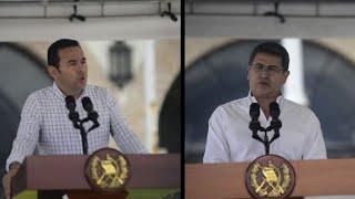 Denuncian motivos políticos en caravana de hondureños hacia EEUU