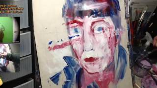 Gela - Woman Time-Lapse Painting Portrait