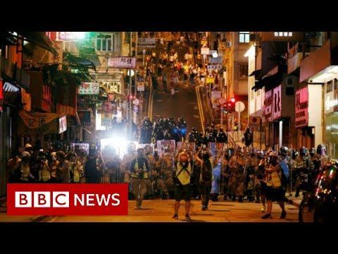 Hong Kong protests: China condemns 'horrendous incidents' - BBC News