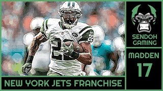 MADDEN NFL 18 | FRANCHISE | NEW YORK JETS | Week 17 vs Pittsburgh Steelers (Divisional round)