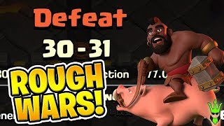 "WE ARE GETTING OUR BUTTS KICKED! - Clan War Leagues! - ""Clash of Clans"""