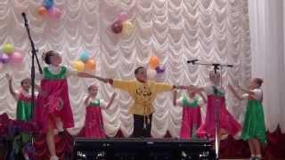 детский танцевальный коллектив Шелаевской СОШ 2