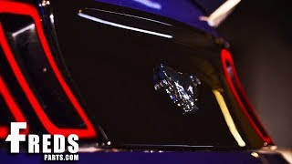 FredsParts 10-14 Ford Mustang Gascap Delete Decklid Install