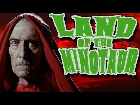 Land of the Minotaur:  starting Peter Cushing and Donald Pleasence