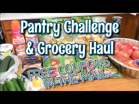 PANTRY CHALLENGE WEEK 3 & GROCERY HAUL + FREE COUPONS IN THE MAIL! | January 2020