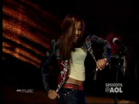 Ciara Thug Style Live On AOL Sessions