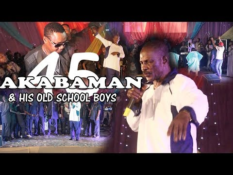 Akabaman & His Old School Boys [SNIPPETS] - Benin Music Live On Stage