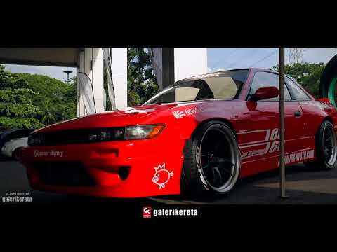 The RED Silvia S13 Rocket Bunny