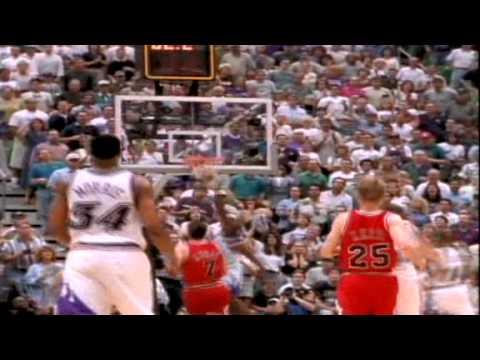 "Michael Jordan's Famous ""Flu Game"" Game 5 1997 NBA Finals"