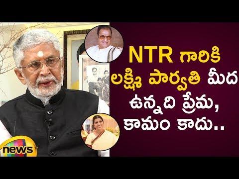 Murali Mohan Exclusive Interview : Reveals Shocking Facts About NTR & Lakshmi Parvathi Relationship