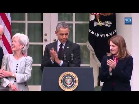 Sebelius Resigns, Burwell To Head Health & Human Services-Full Video Of Announcement