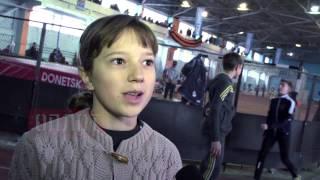 2014.11.29 Соревнование по легкой атлетике в Донецке