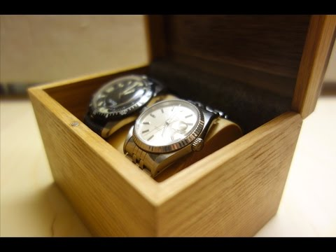 Two Watch Box   DIY Woodworking