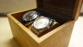 Two Watch Box DIY Woodworking DIRESTA style