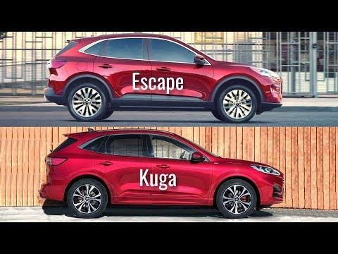 2020 Ford Escape vs Ford Kuga
