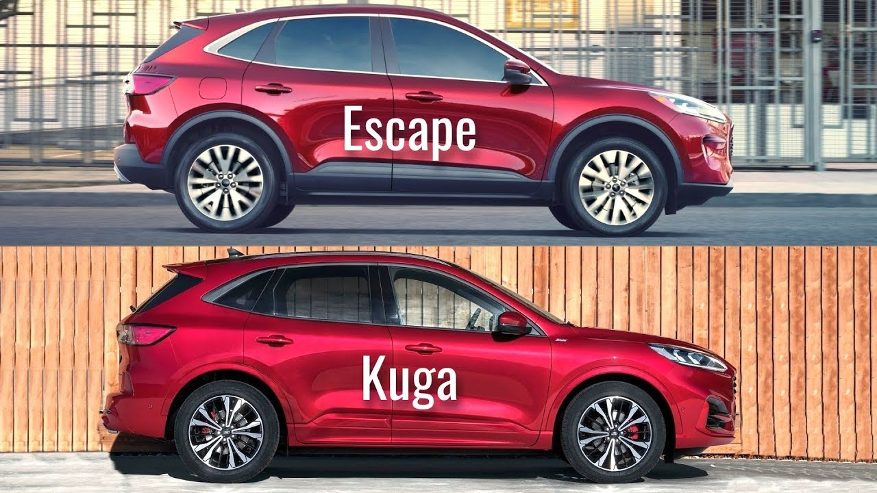 2020 Ford Escape vs Ford Kuga - YouTube