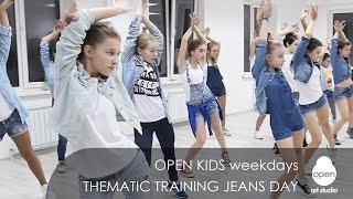 OPEN KIDS weekdays thematic training JEANS DAY - Open Art Studio