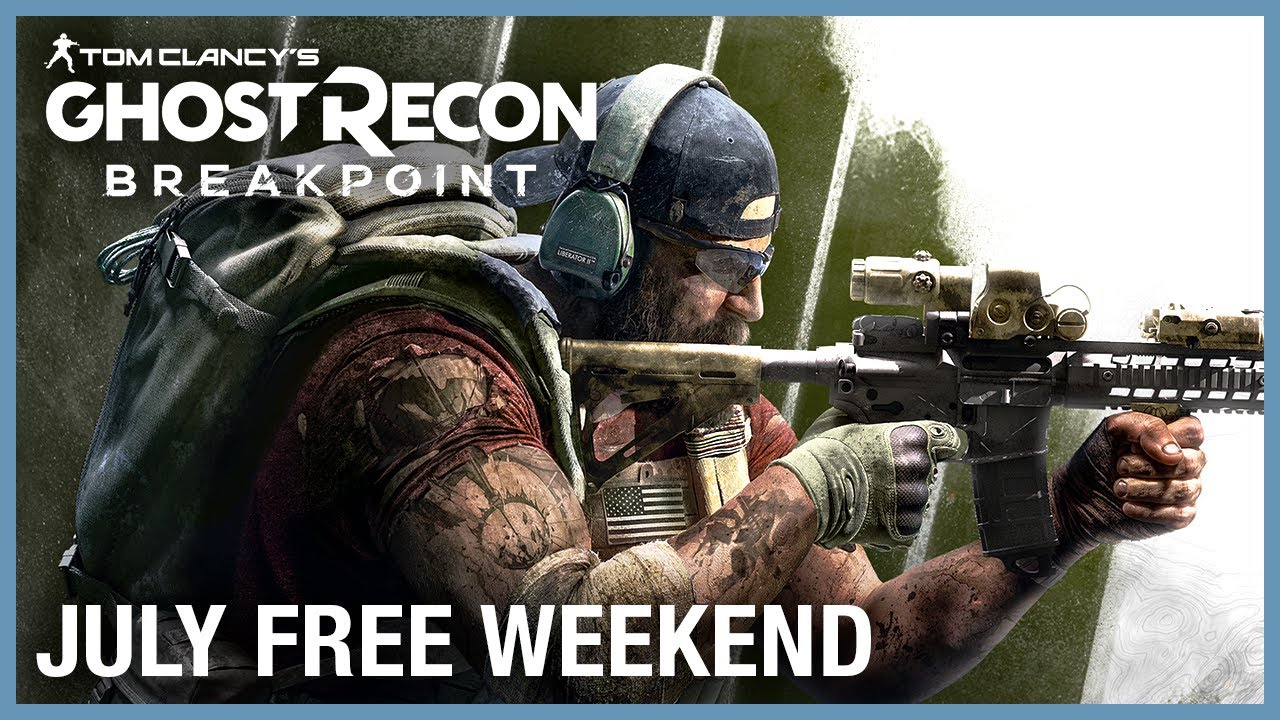 Tom Clancy's Ghost Recon Breakpoint: Free Weekend July 16 - 19 | Trailer | Ubisoft