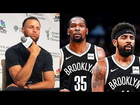 Stephen Curry Reacts To Kevin Durant Joining Nets & Leaving Warriors!