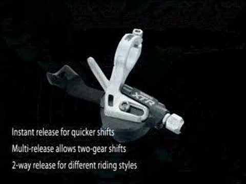 New 2007 Shimano XTR Mountain Bike Components.