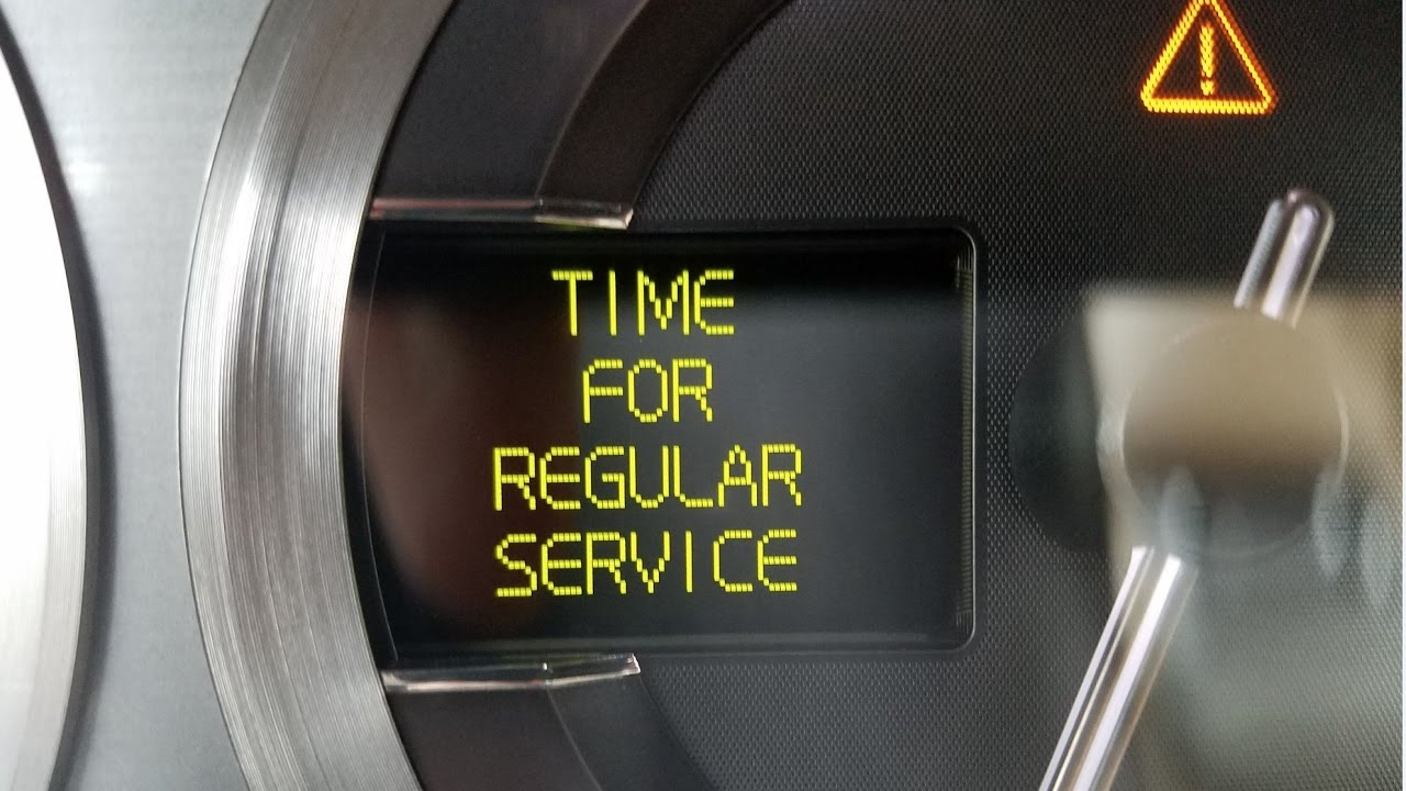 Resetting The Time For Regular Service Indicator In An Aston Martin Db9 Youtube