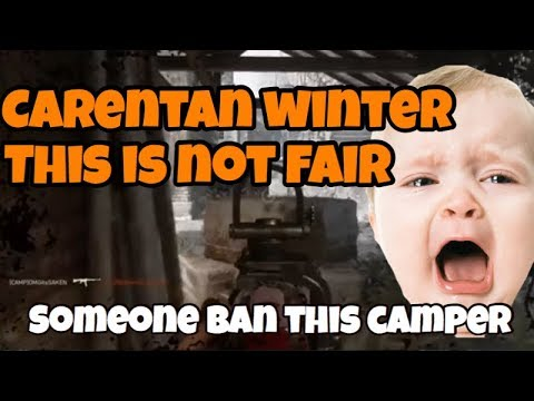COD WW2 This technique should be banned! Carentan Winter Camping Spot