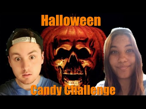 ~HALLOWEEN CANDY CHALLENGE~