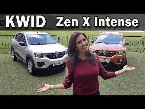 Renault Kwid 2018 | Teste e Comparativo das Versões Zen e Intense