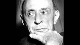 Arnold Scönberg: Pierrot Lunaire - 15. Heimweh