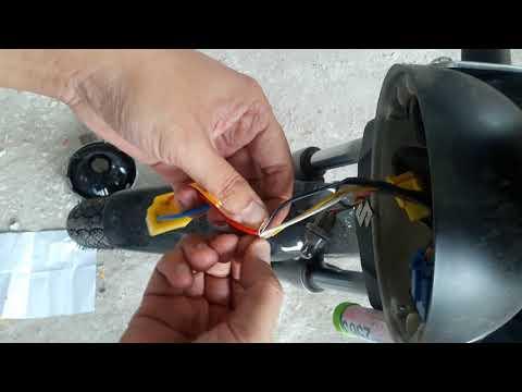เปลี่ยนหลอดไฟหน้าแบบLED ขั้ว H4