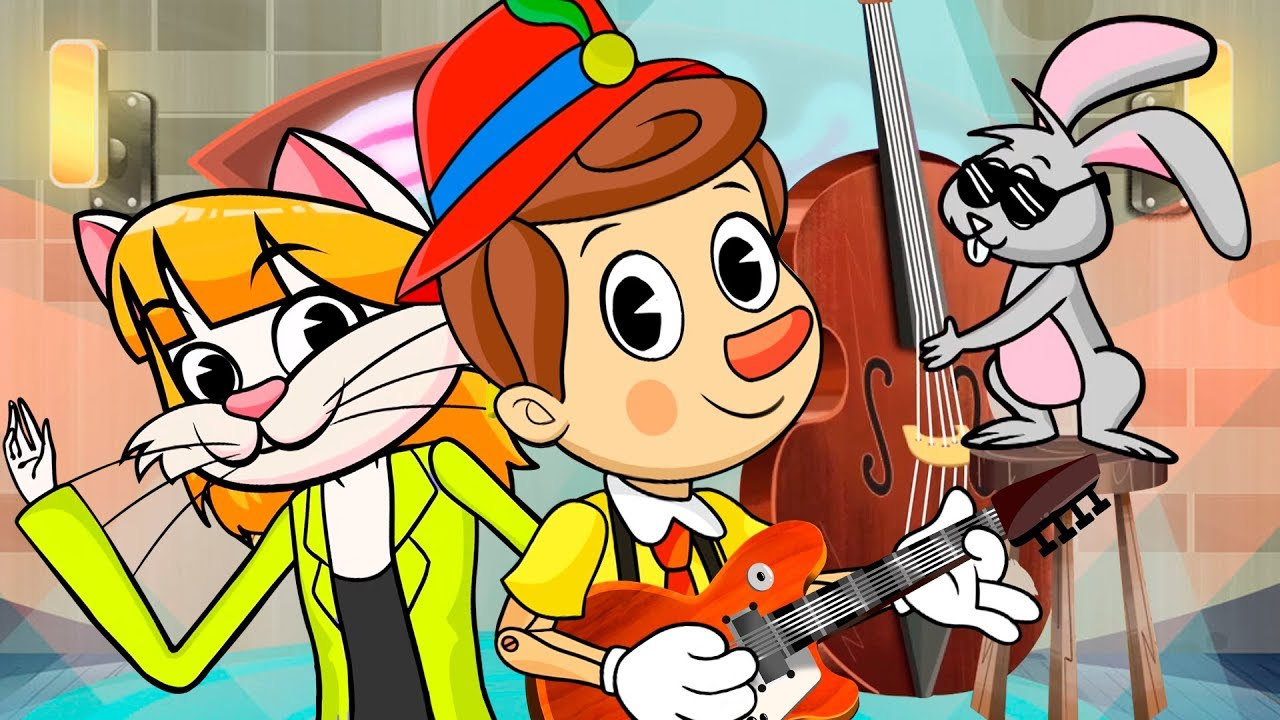 PINOCHO ROCK AND ROLL, canciones infantiles