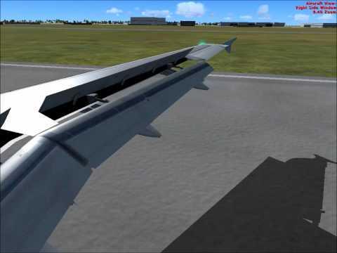Flight Simulator Landing At Amman,Jordan