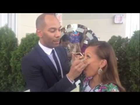 Vanessa Williams and Sam Fine Give Summer Makeup Tips