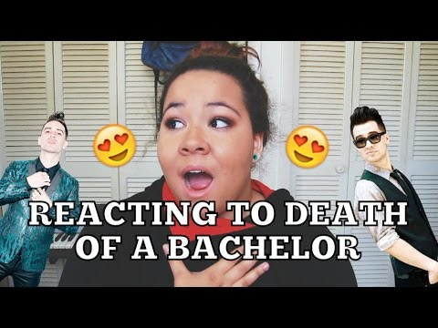 REVIEWING/REACTING TO DEATH OF A BACHELOR | Hannah Joy