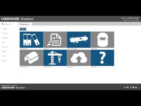 Shopfloor - Generating Equipment and Data Reports - COMPRESS