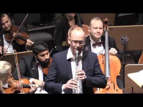 Mozart - Clarinet Concerto A Major, KV 622 - Rony Moser, Qatar Philharmonic Orchestra, Tomas Netopil