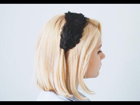 Back to school!DIY Украшения для волос(повязка солоха бантики)