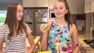 Tayla gets braces and shares eating tips in first week!