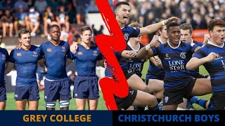 Grey College (South Africa) vs Christchurch Boys (New Zealand) 2019