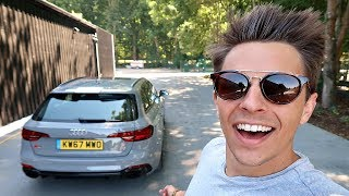 MY NEW £80,000 AUDI RS4! FIRST DRIVE!