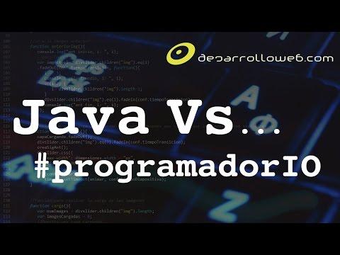 Java Vs ... #programadorIO