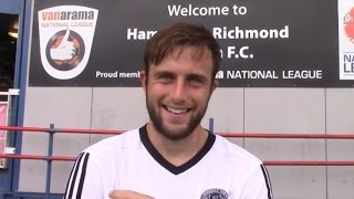 Jake Gallagher - Hampton and Richmond Borough reaction